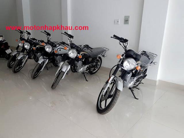 Hình ảnh thực tế Yamaha YB125SP