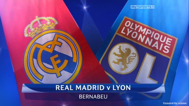Olympique Lyon vs Real Madrid