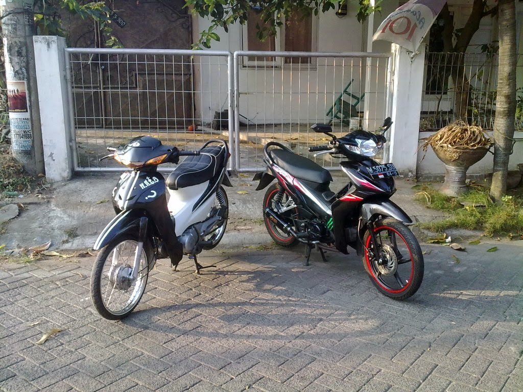 Modifikasi Revo Fit Drag