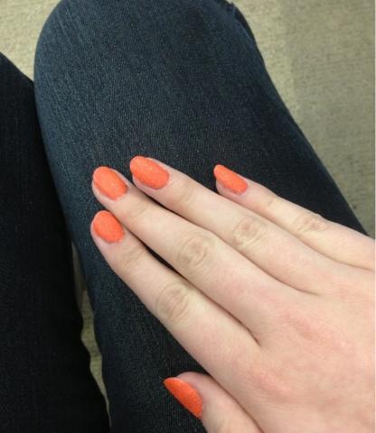 Ciate, Ciate Corrupted Neon Manicure, Ciate neon, Ciate neon glitter, Ciate neon orange, neon, notd