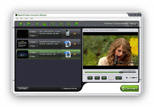 iSkysoft Video Converter Ultimate 4.5.0.3 – Extrae, graba y transfiere vídeos