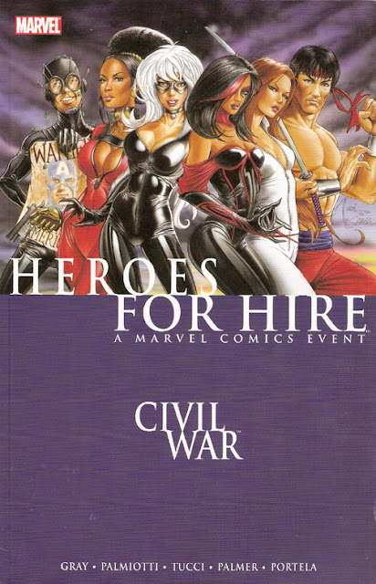 Heroes for Hire, v. 1: Civil War cover