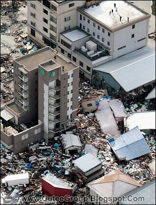Earthquake Tsunami - Japan