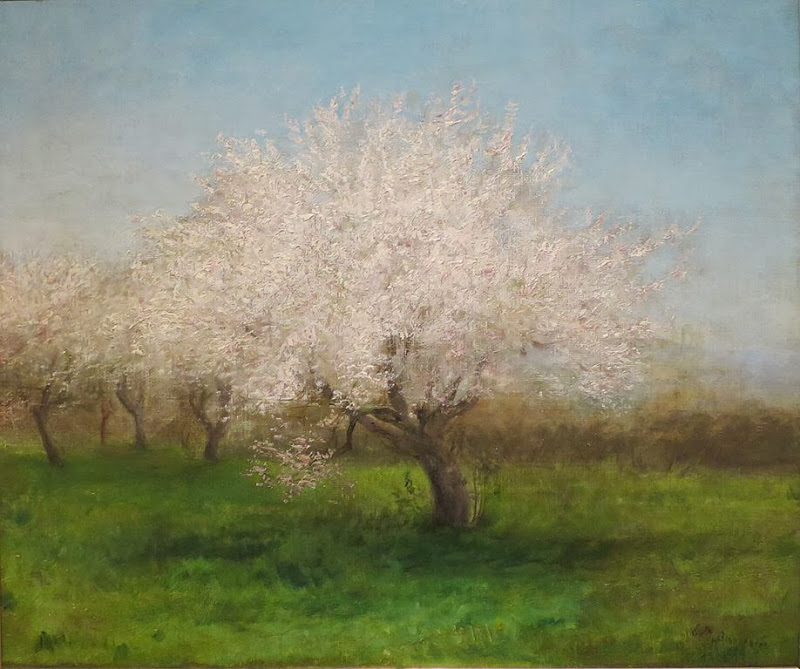Edward Mitchell Bannister - Apple Trees in a Meadow, c. 1890