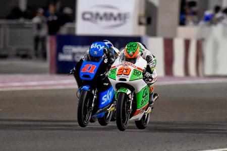 Antonelli 9° e primo degli italiani nel GP del Qatar