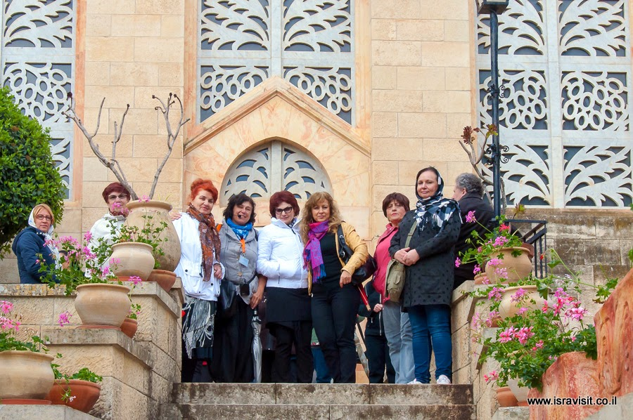 Экскурсия в Эйн Карем в церковь Встречи или Посещения. Гид в Израиле Светлана Фиалкова