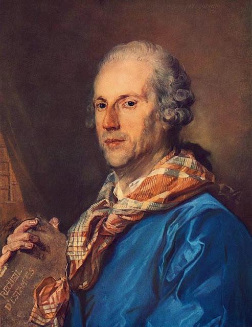 Jean-Baptiste Perronneau - Portrait of Charles le Normant du Coudray