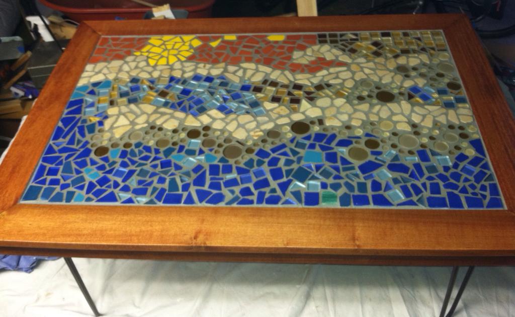 Mosaic Tile Table Kit Mosaic Tile Table