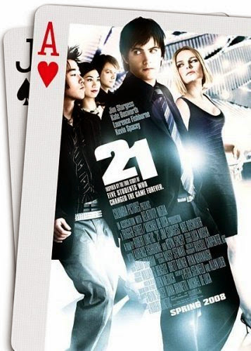 Poster Of English Movie 21 (2008) Free Download Full New Hollywood Movie Watch Online At alldownloads4u.com