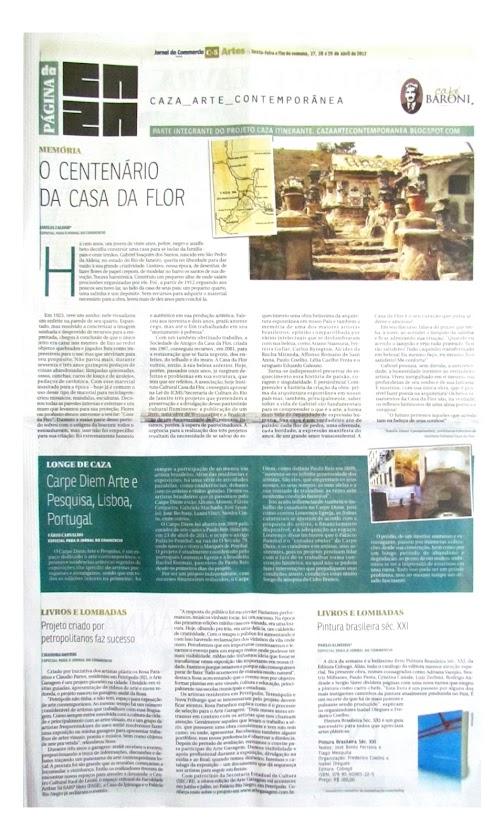 Página da Caza - 27 de Abril de 2012