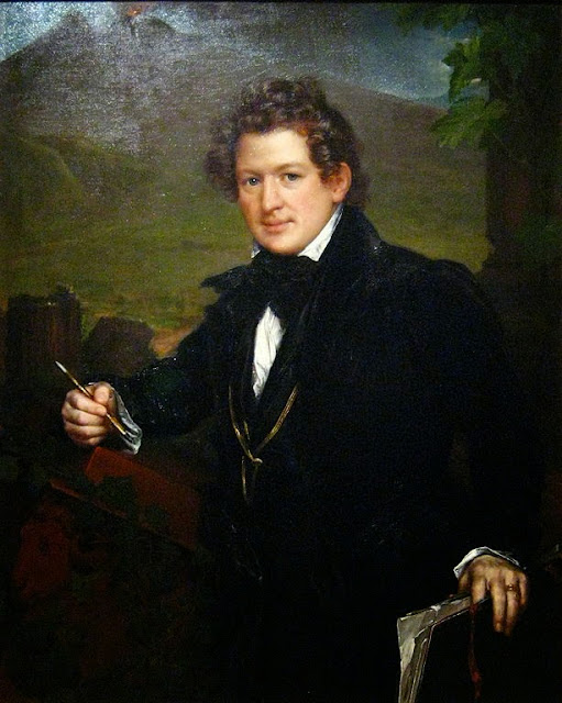 Vasily Tropinin - Portrait of Karl Brulloff