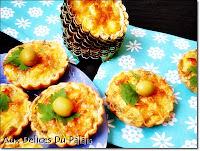Mini-quiches au thon et aux olives - recette indexée dans les Entrées