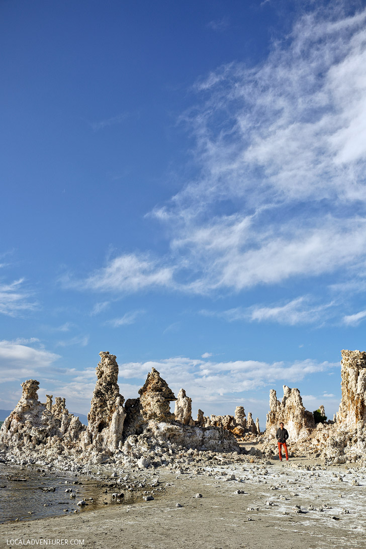 West Coast Road Trip Destinations - Mono Lake California.