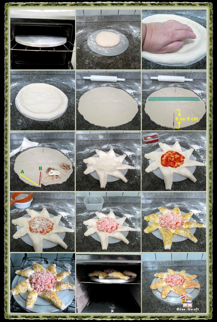 Pizza estrela 4