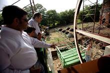 Documentacion del primer encendido oficial del trapiche de la Hacienda La Esperanza.