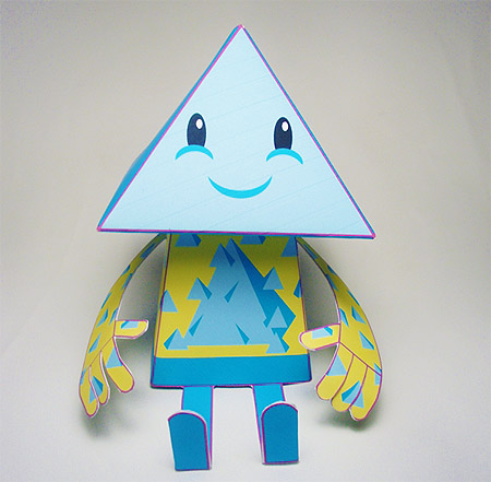Neppy Paper Toy