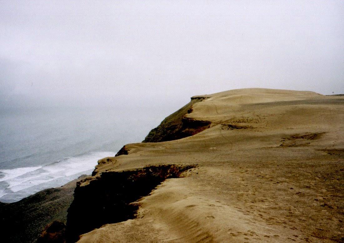 Steilküste am Pazifik