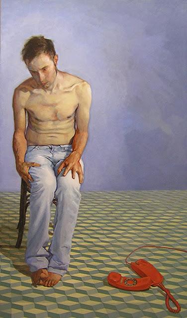 Metathesiophobia tiempo,pintura de Jordi Gamón Blanch