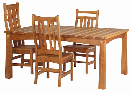 Shaker Dining Room Table  Erik Organic