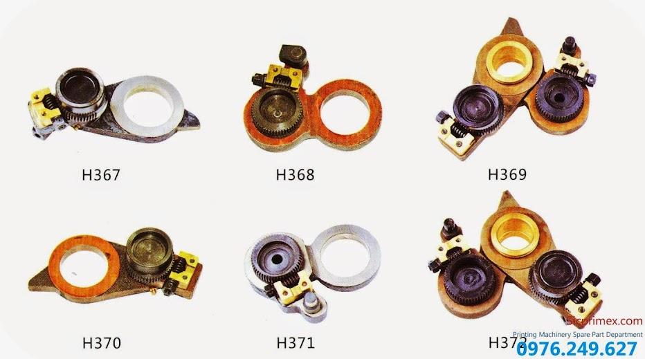 Báo giá các loại phụ tùng máy in công nghiệp chính hãng H367-372