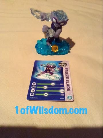 Skylanders Swap Force Freeze Blade Card