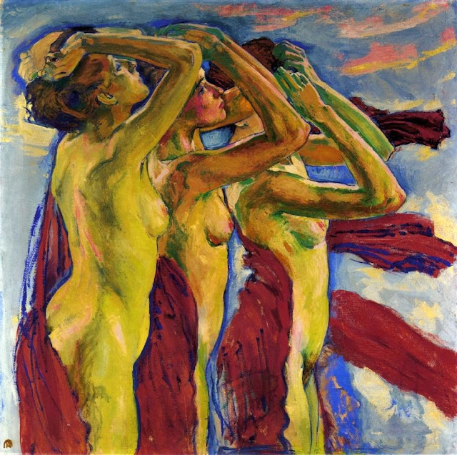 Koloman Moser - The Three Graces