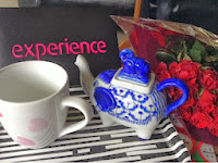 Love mugs, elephant teapot and roses