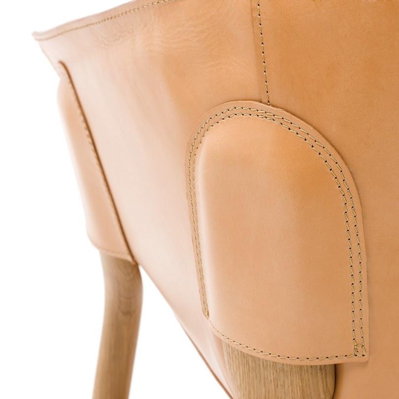 *皮革口袋小扶椅:DING3000德國設計!pocket chair! 4