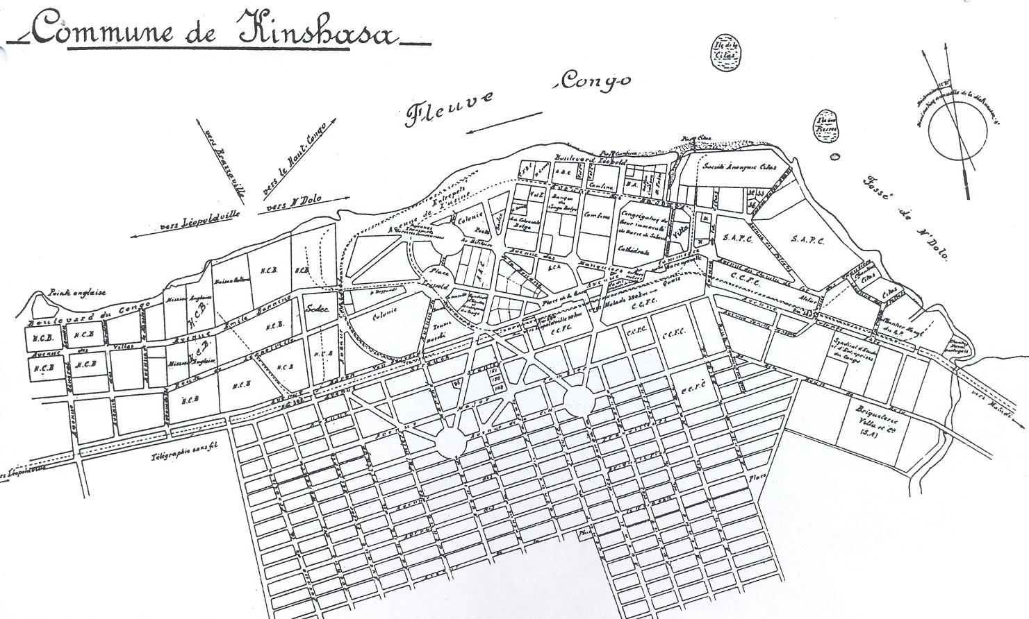 Kinshasa Then and Now Kinshasa 1883  Creation of a Trading Center