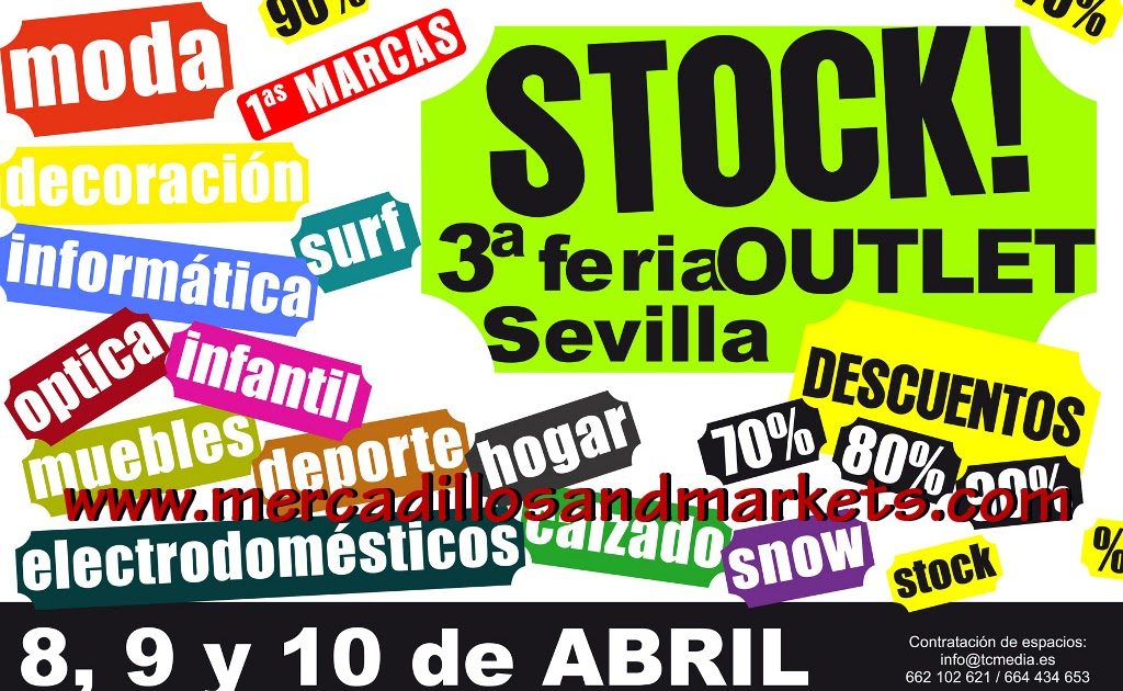 Mercadillos and markets 3 feria outlet sevilla - Electrodomesticos sevilla ...
