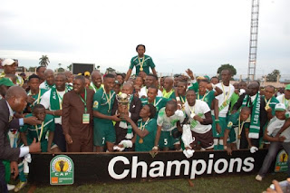 AC Léopards de Dolosie (Congo Brazzaville), sacré champion de la Coupe de la Confédération. Photo Droits tiers.