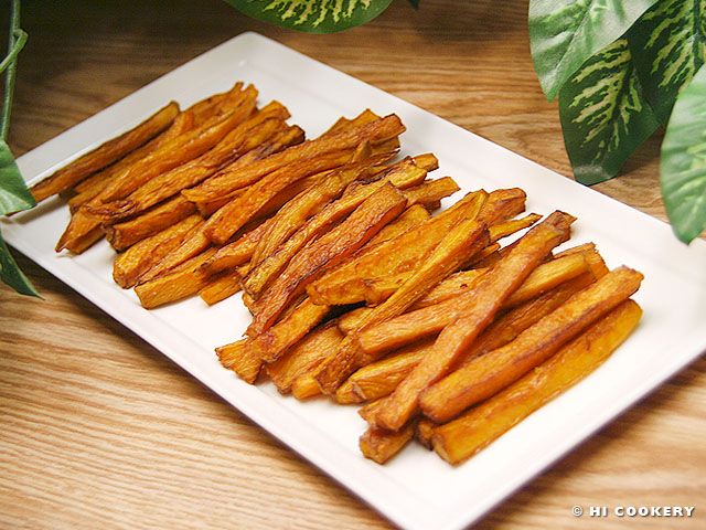 Julienne Sweet Potato Fries