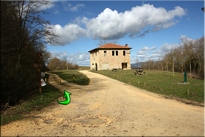 Antigua estación de Ullibarri-Jauregi
