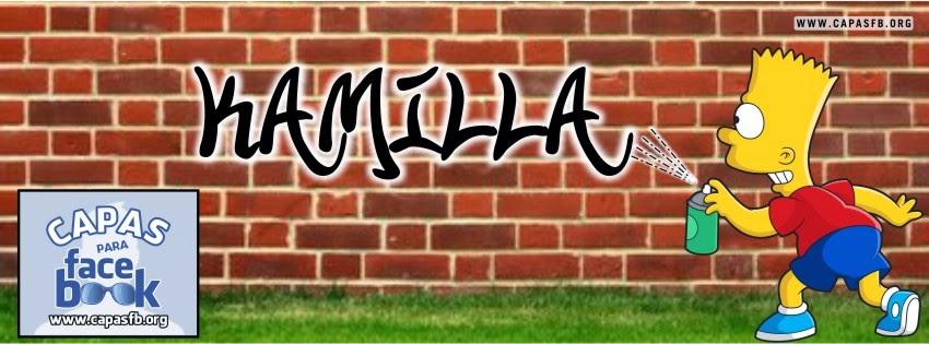 Capas para Facebook Kamilla
