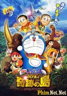 Phim Đôrêmon - Nobita Và Hòn Đảo Kì Diệu - Doraemon: Nobita And The Island Of Miraclesanimal Adventure