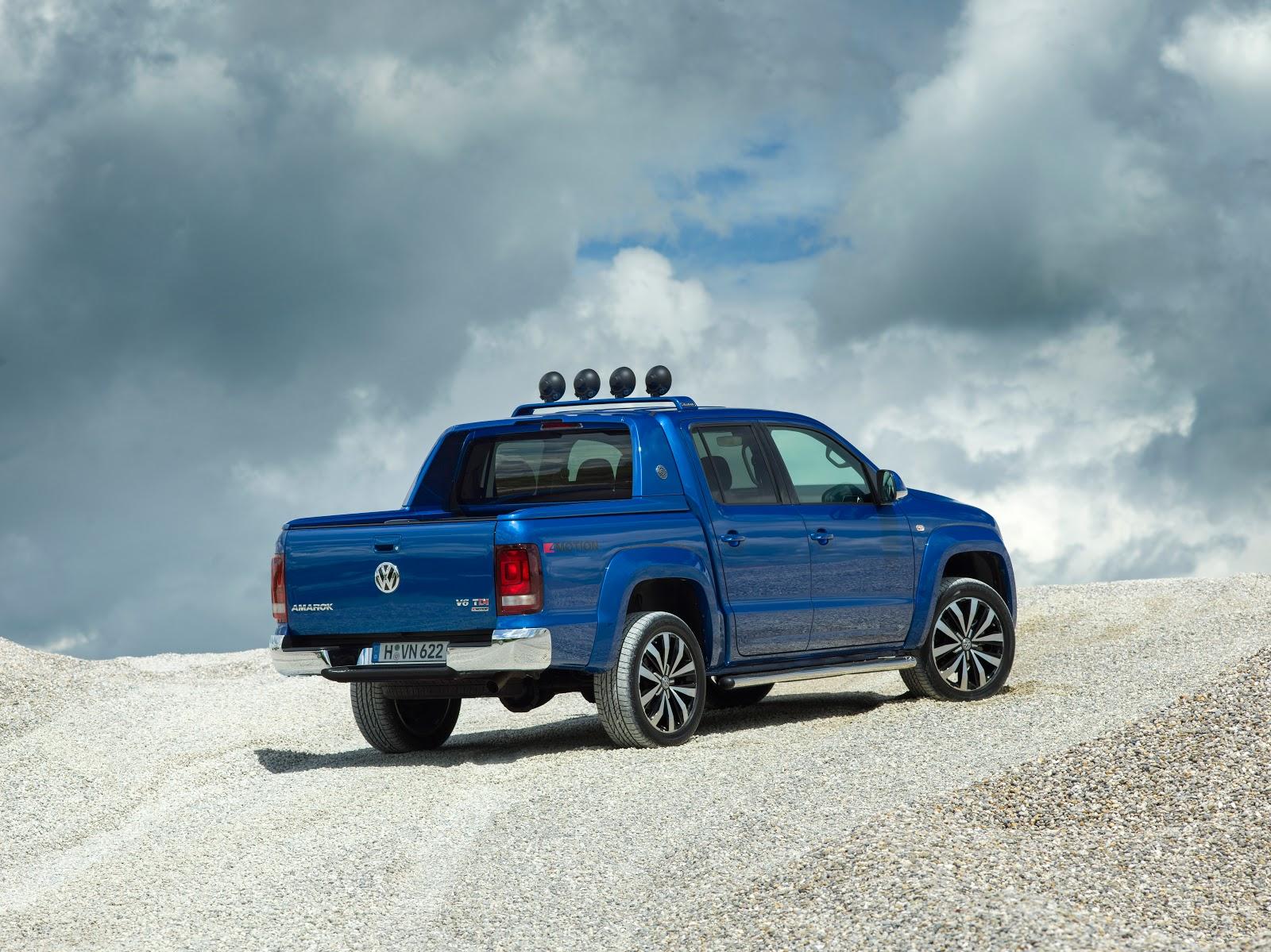 Đánh giá xe Volkswagen Amarok 2017 - Bán tải hàng độc