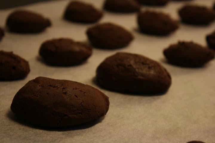 Chokolade-karameltrøfler med havsalt