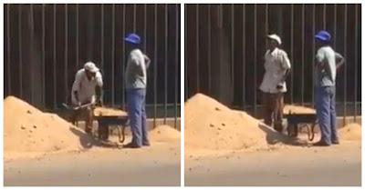 Como Se Fazem As Obras Em África. Trolhas Africanos Descobrem Técnica REVOLUCIONÁRIA!!!