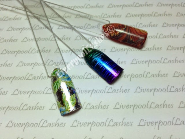 liverpoollashes liverpool lashes best north west pro beauty blogger how to do full coverage nail foils