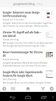 GoogleWatchBlog in Google Currents