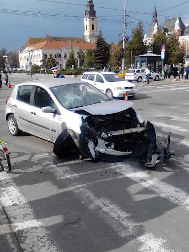 Accident în centrul Oradei #5