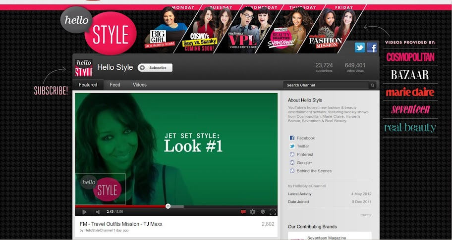 Hello Style Channel on YouTube