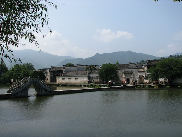 Bridge to Hongcun Village