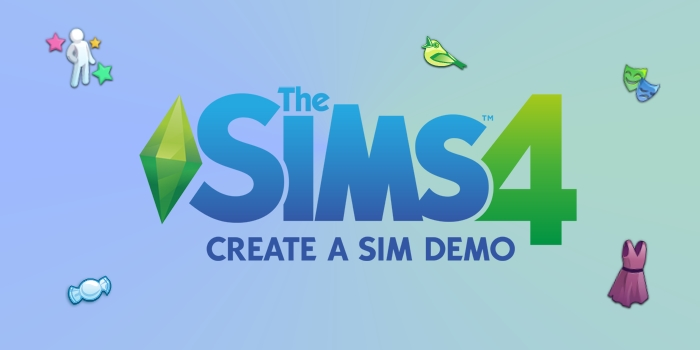 de sims 4 CAS demo icons