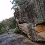 Rocks above Nepean River (146748)