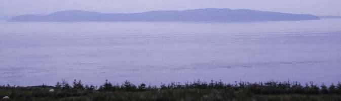 Mull of Kintyre - Paul McCartney's zweite Heimat in Schottland von Torr Head aus gesehen
