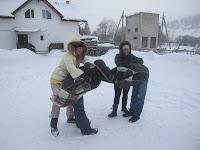 Фоторепортаж с тренинга по ньяса-йоге 12-18 февраля 2012г в Карпатах.744