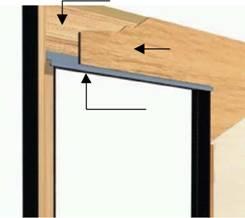 La ventana de madera tipos y tecnicas - Dintel de madera ...