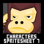 Adventurer Character Spritesheet