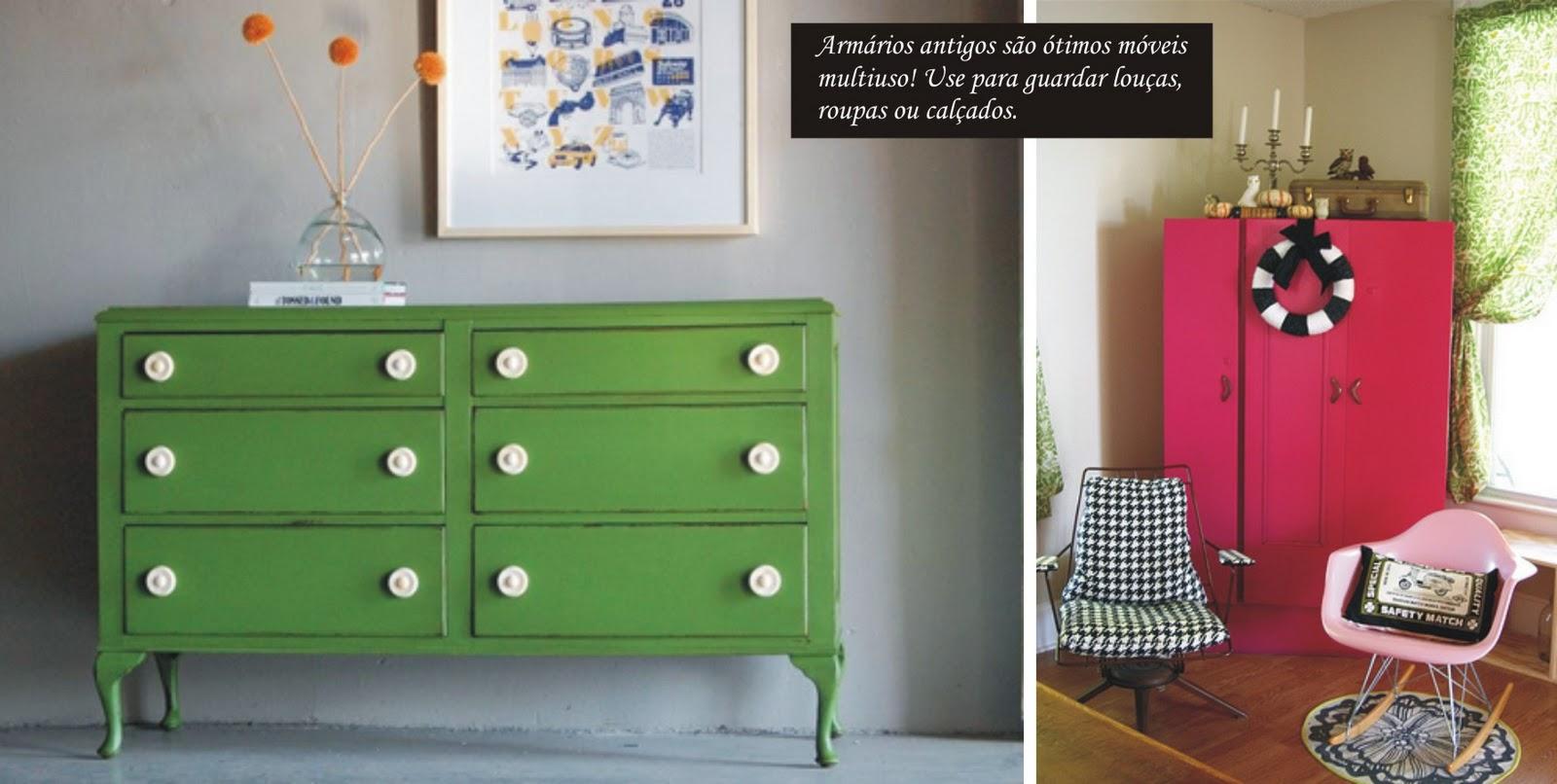 Móveis usados: renove com pintura! *Vista a Casa! por MesklaDesign #A6253D 1600x806